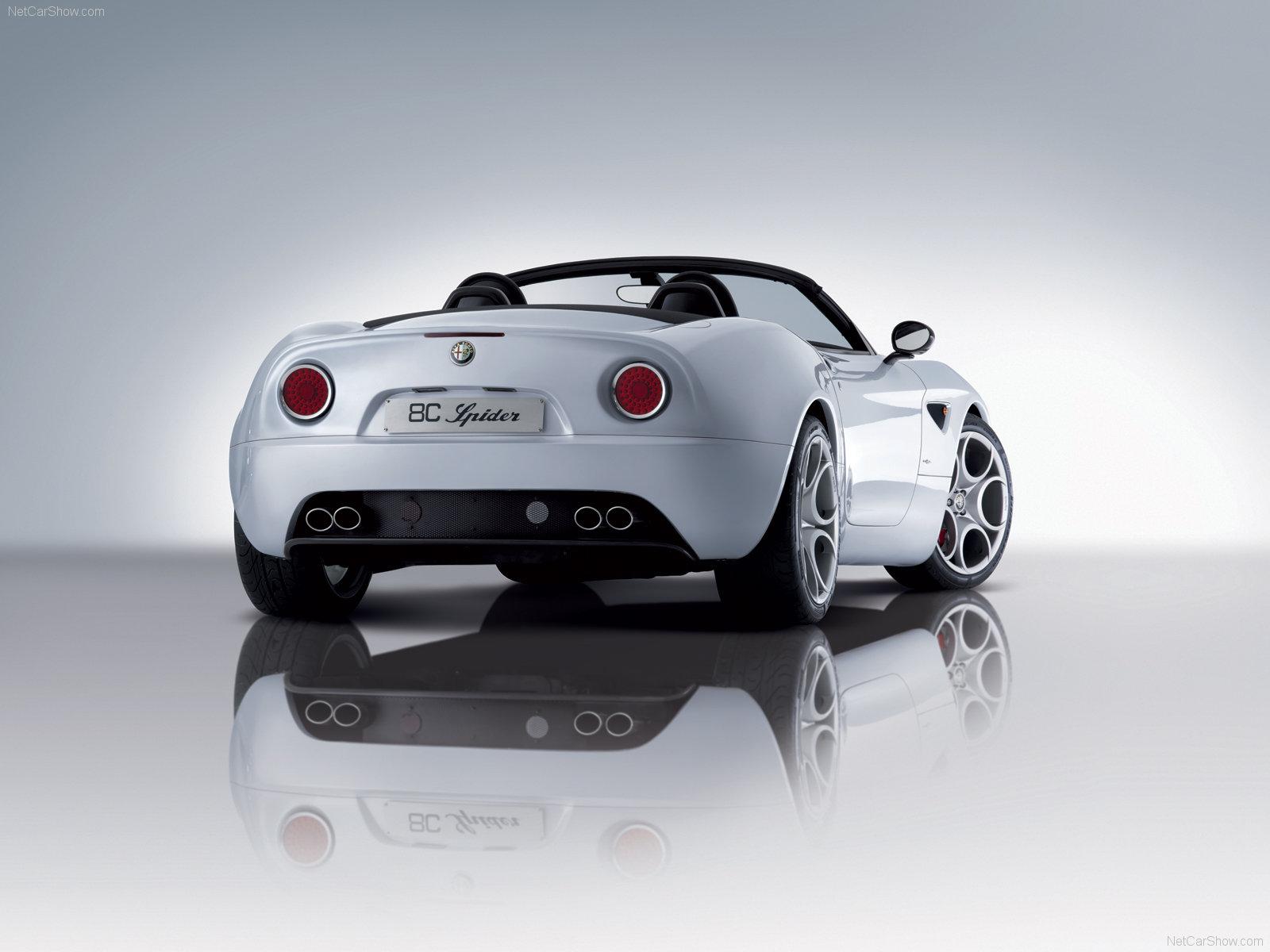 Alfa Romeo 8C Spider mp54 pic 52479