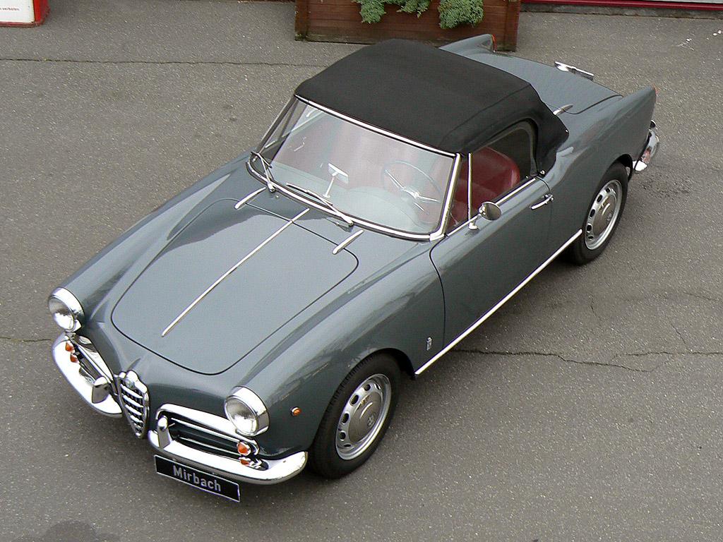 Alfa Romeo Giulietta Spider  photo 41251