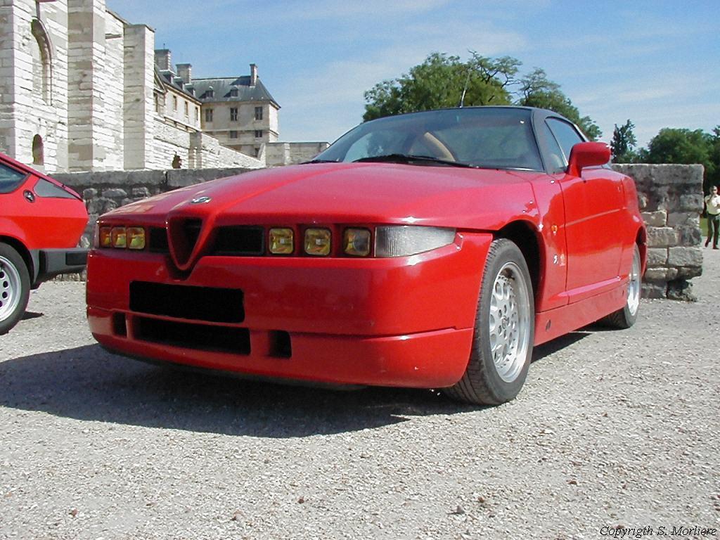 Alfa Romeo SZ Zagato photos - PhotoGallery with 5 pics| CarsBase.com