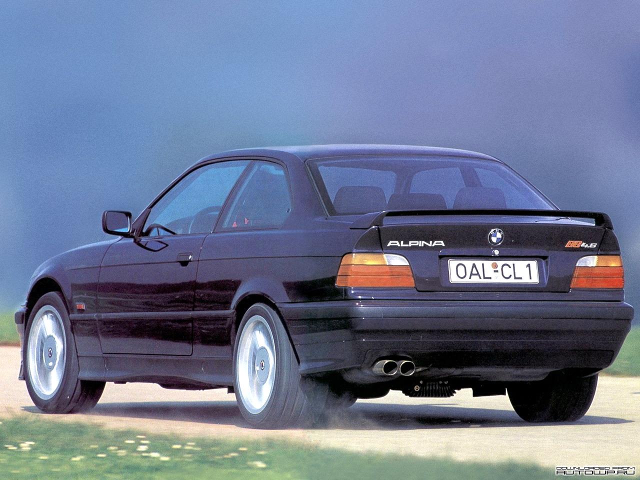 Alpina B8 Saloon (E36) 4.0 MT (313 hp) Auto Fiche technique, prix et les avis