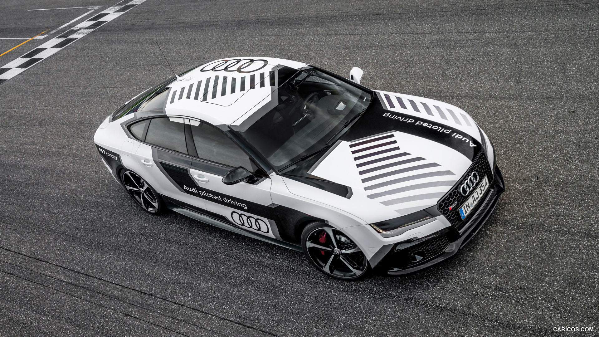 Audi RS7 Piloted Driving picture