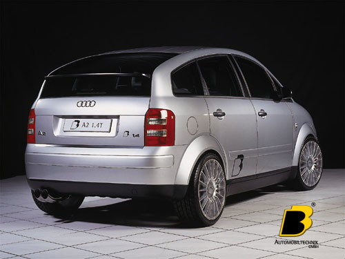 b b audi a2 photos photogallery with 5 pics carsbase. Black Bedroom Furniture Sets. Home Design Ideas