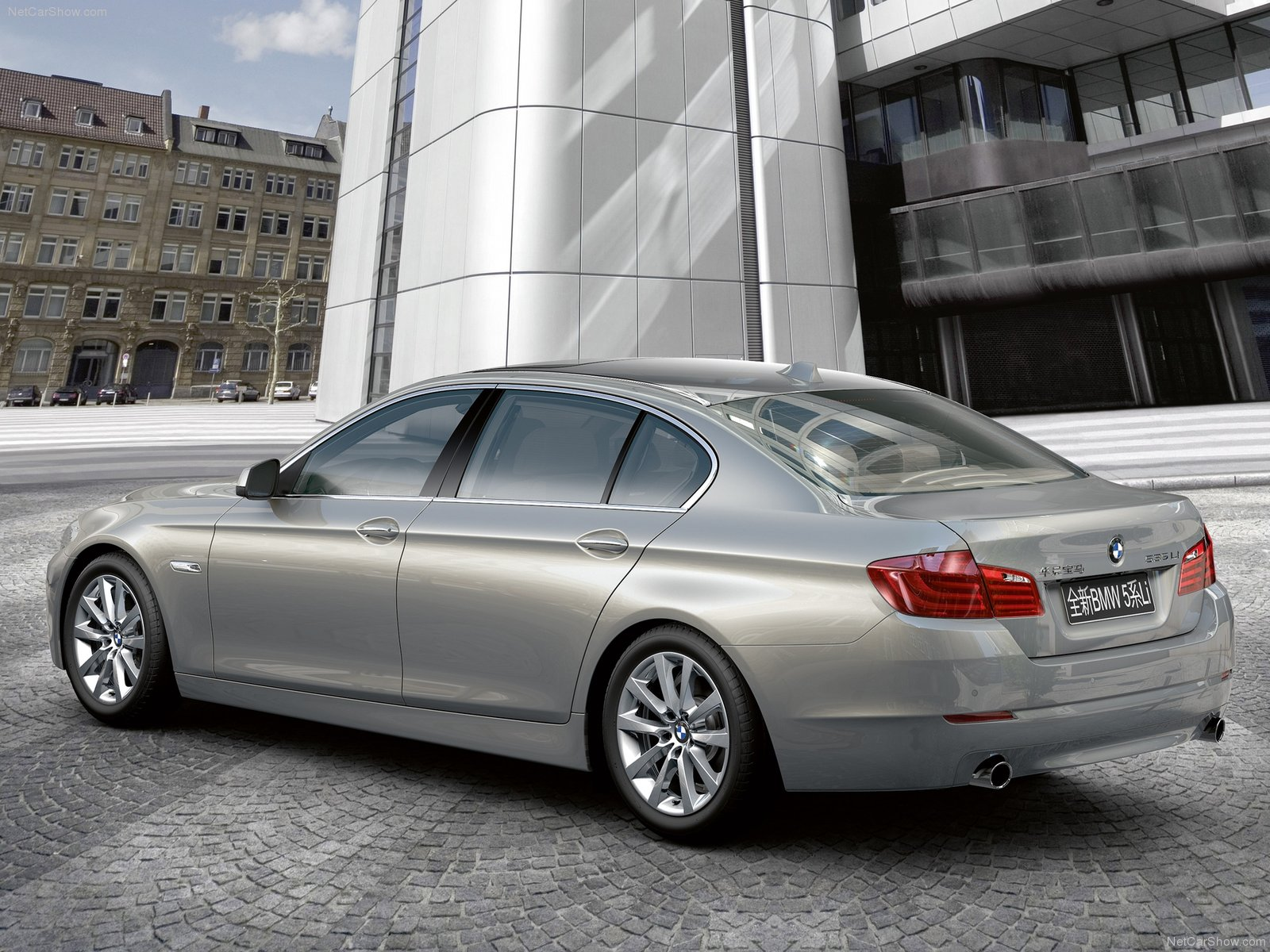 Bmw 5 Series Long Wheelbase Photos Photogallery With 30