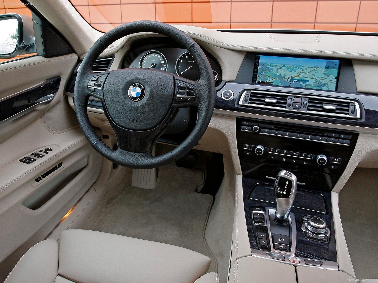 Фото салона BMW 7-series L. Интерьер BMW 7-series L.