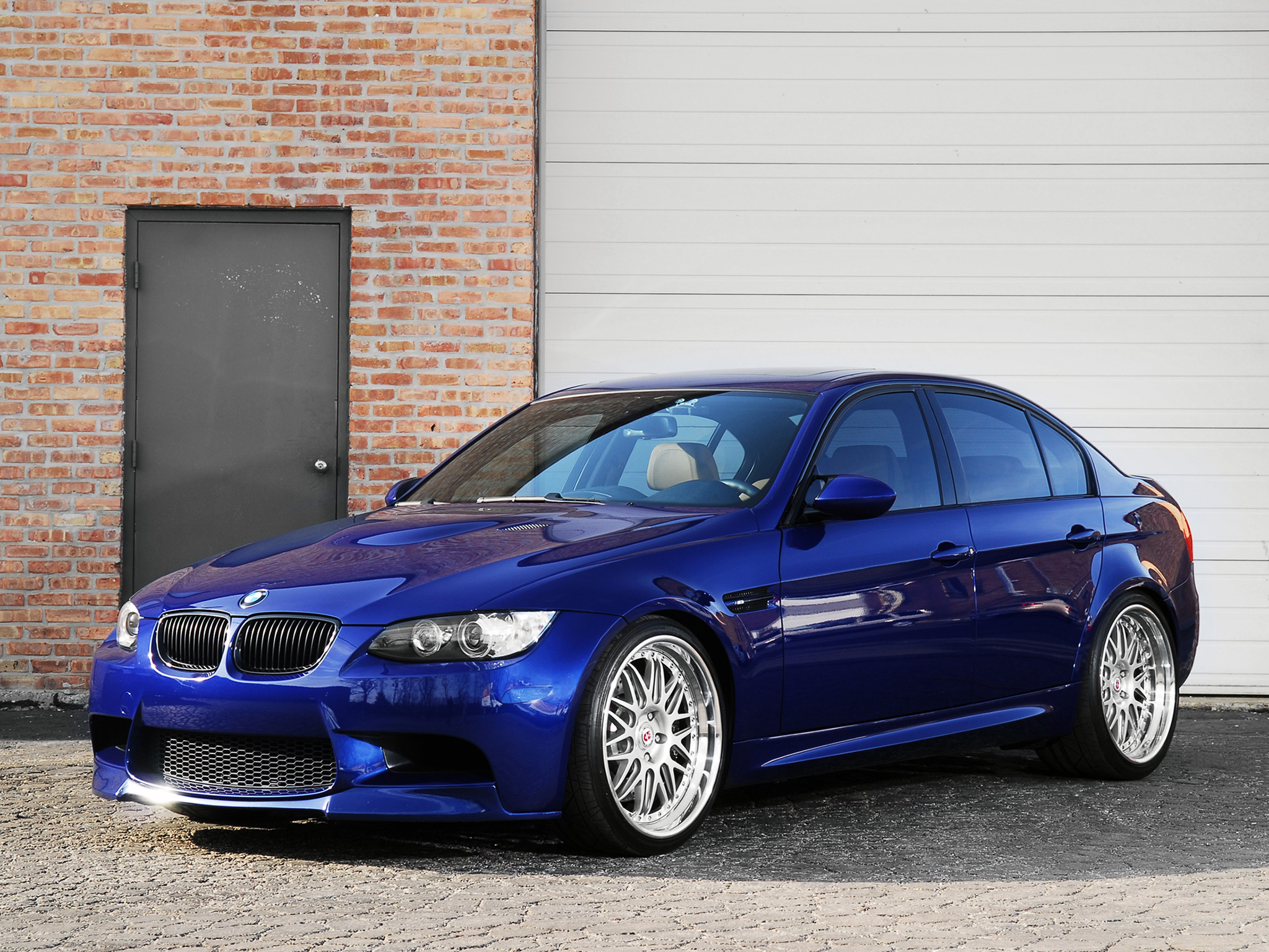 The Gallery For Gt Bmw M3 E90 Blue