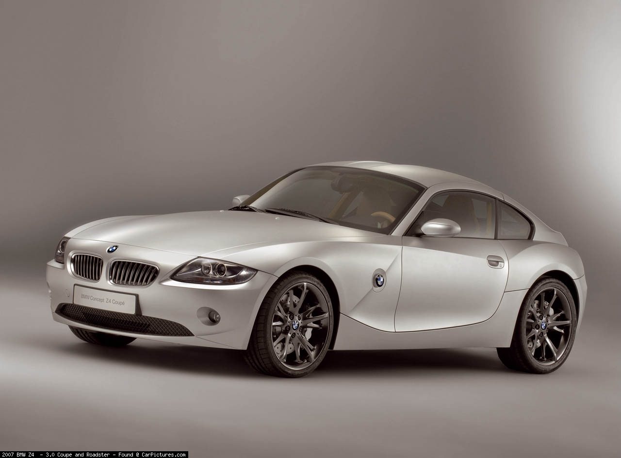 Bmw Z4 Coupe Photos Photogallery With 13 Pics Carsbase Com