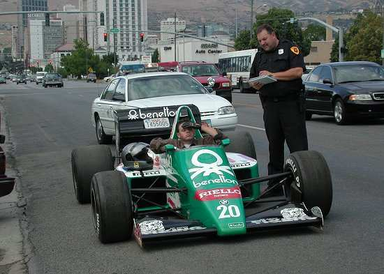Benetton F1 Race Car photos  PhotoGallery with 4 pics CarsBase.com