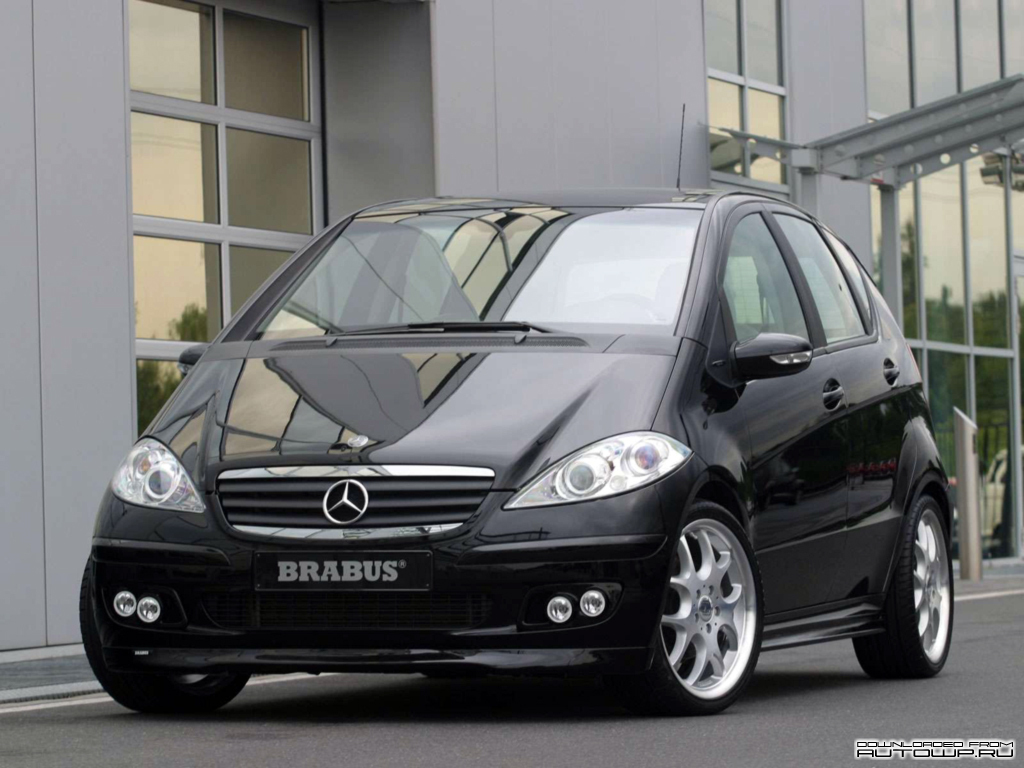 brabus a class 5 door w169 photos photogallery with 6 pics. Black Bedroom Furniture Sets. Home Design Ideas