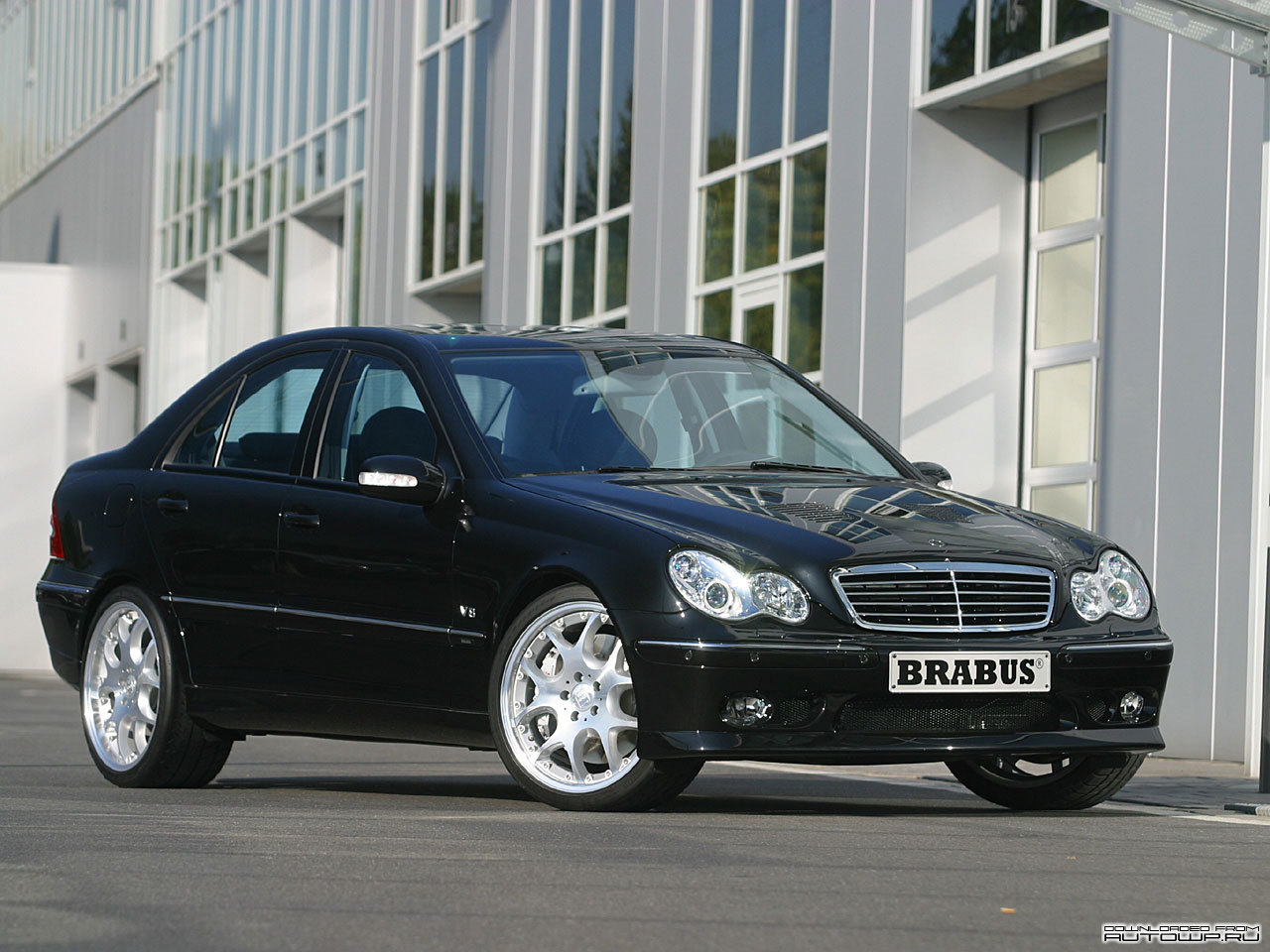 brabus c class w203 photos photogallery with 9 pics. Black Bedroom Furniture Sets. Home Design Ideas