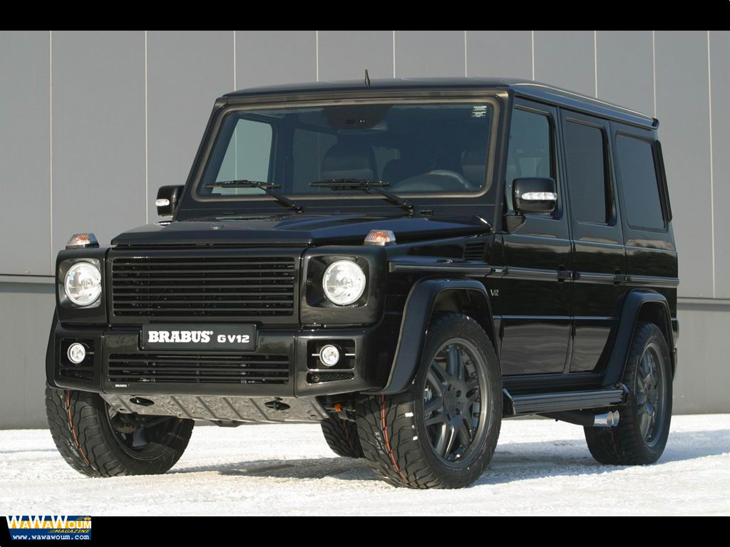 Brabus g class photos photogallery with 9 pics for Mercedes benz g wagon v12