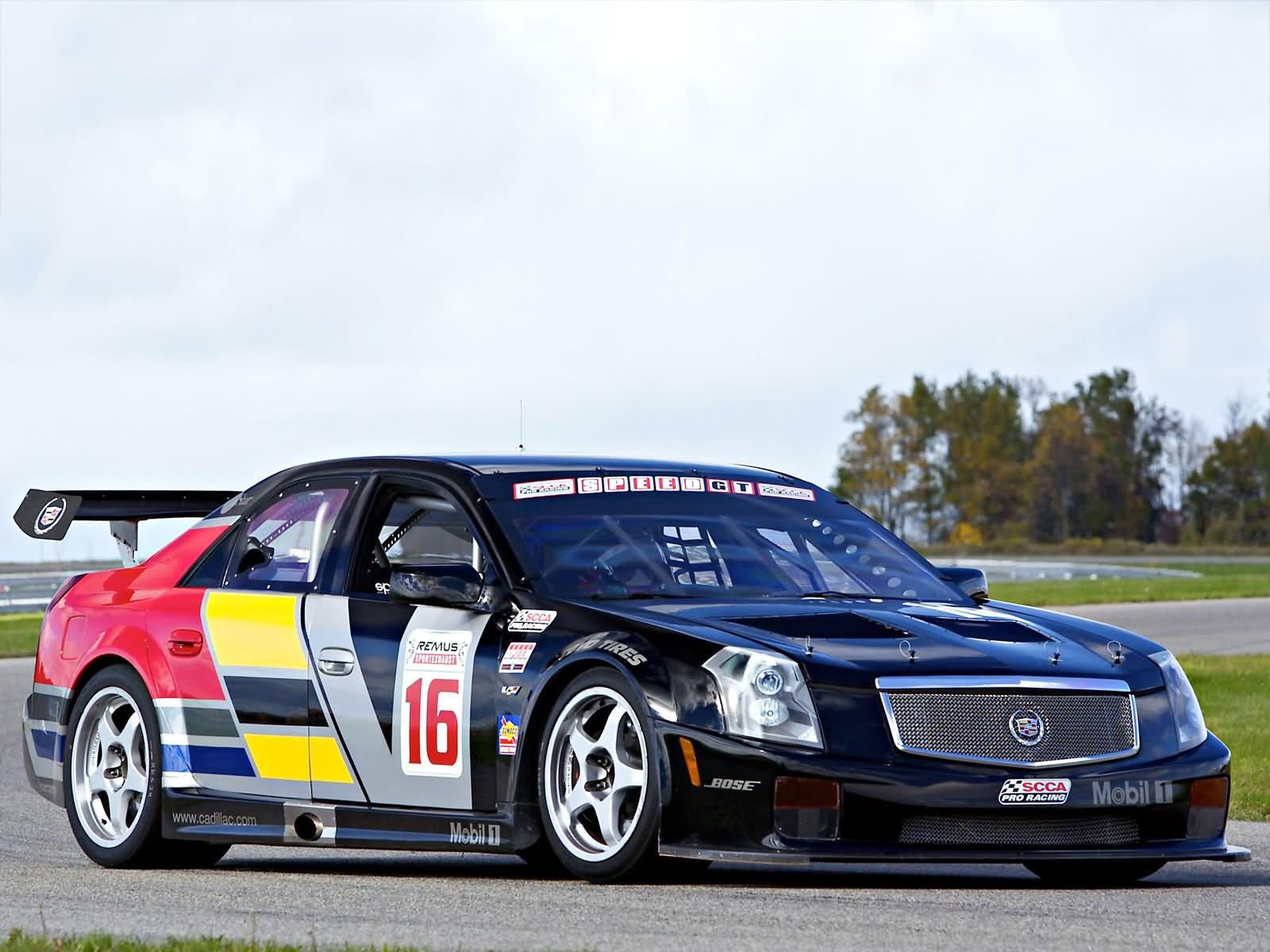 Cadillac Cts V Race Car Mp Pic