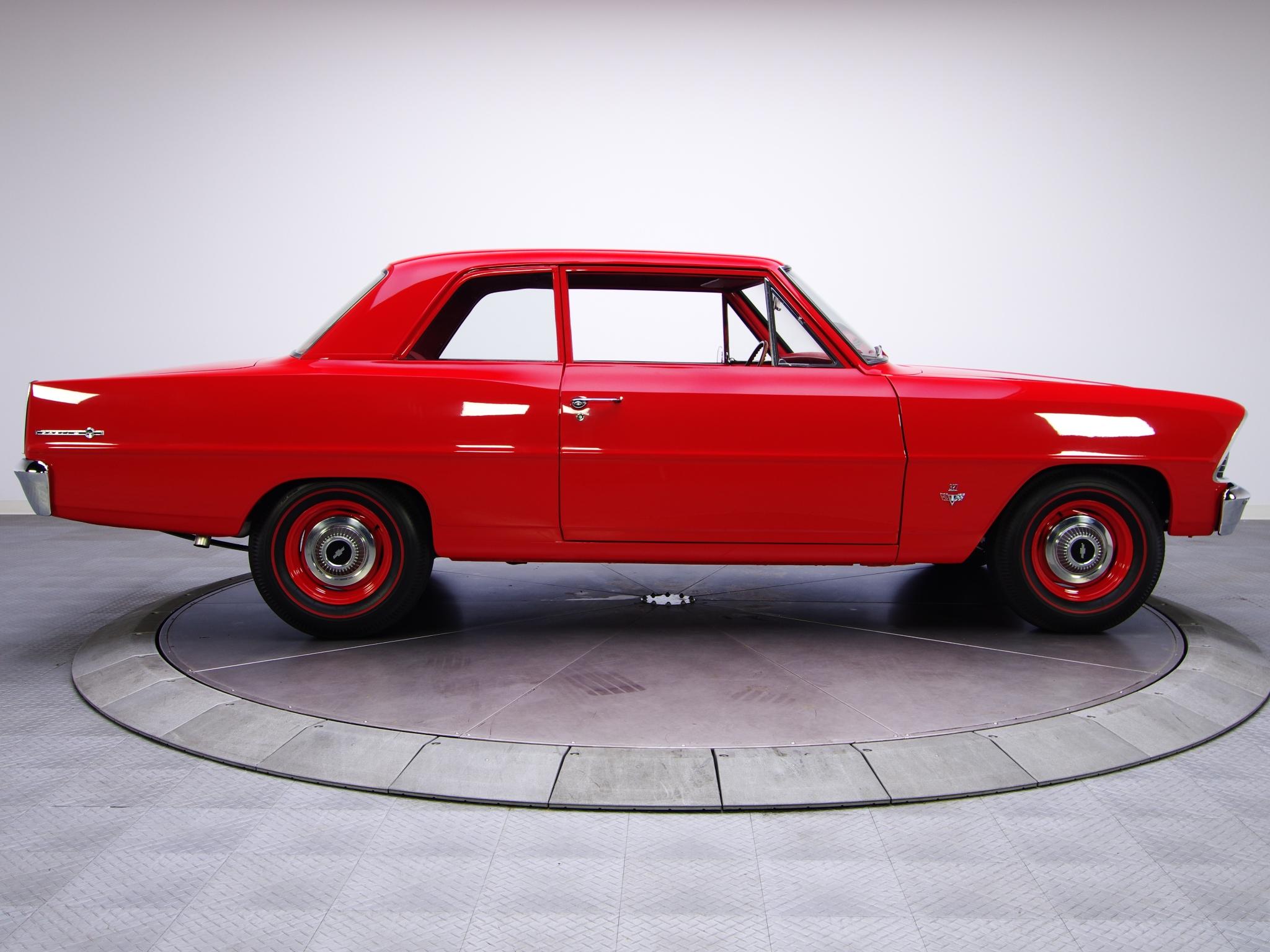 19671968 Nova Chevy II 14 Billet Black Muscle Wheel