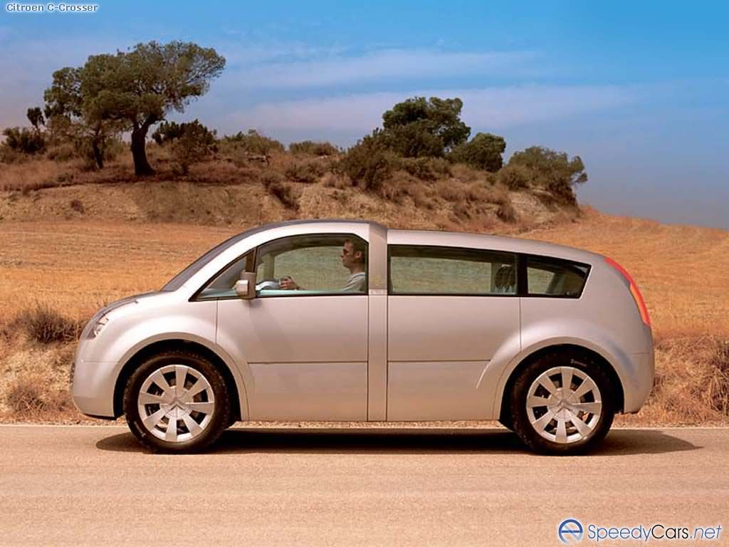 citroen c crosser photos photogallery with 15 pics. Black Bedroom Furniture Sets. Home Design Ideas