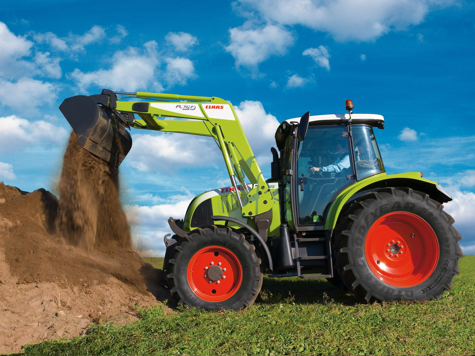 Claas Ares Photos Photogallery With 8 Pics Carsbase Com