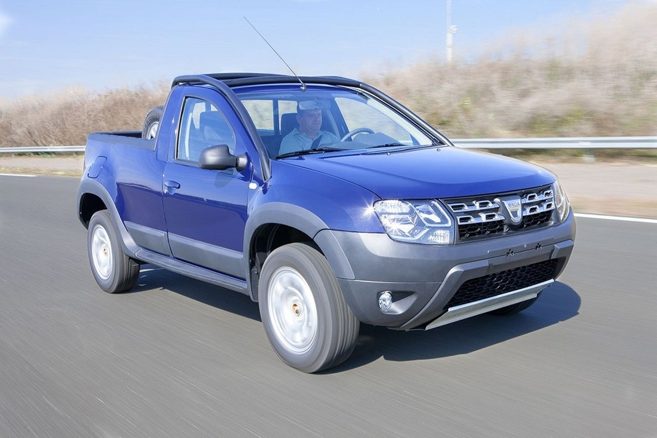 dacia duster pick up picture 130457 dacia photo gallery. Black Bedroom Furniture Sets. Home Design Ideas