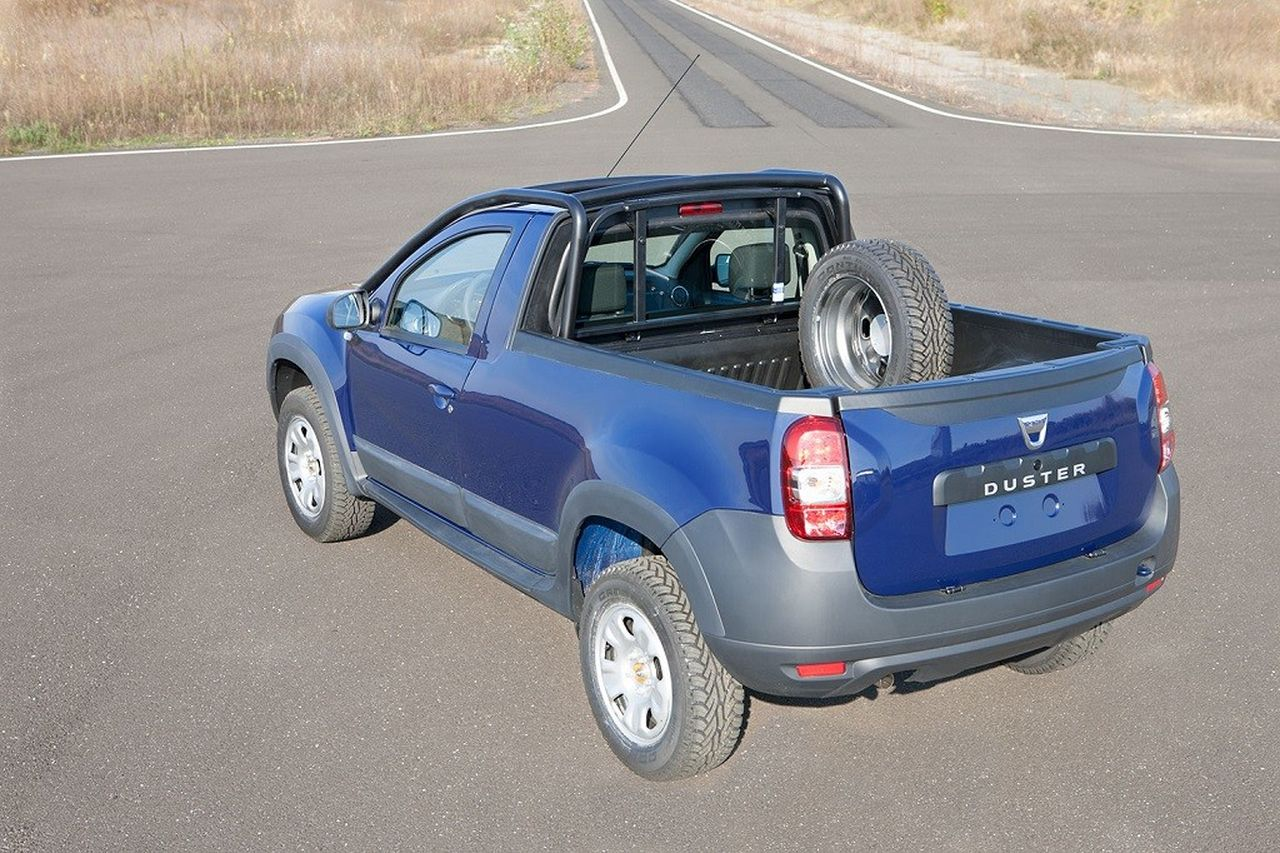 dacia duster pick up photos photogallery with 10 pics. Black Bedroom Furniture Sets. Home Design Ideas
