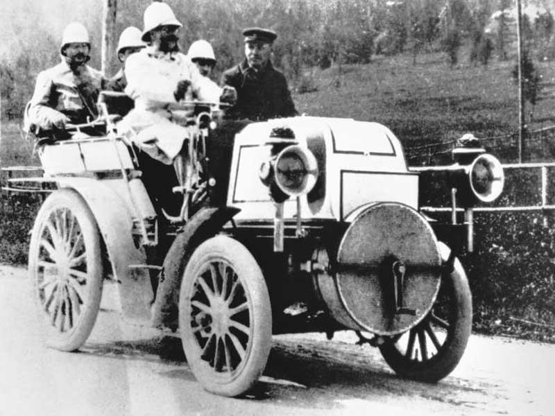 Daimler 12HP Rennwagen новые фотогра…