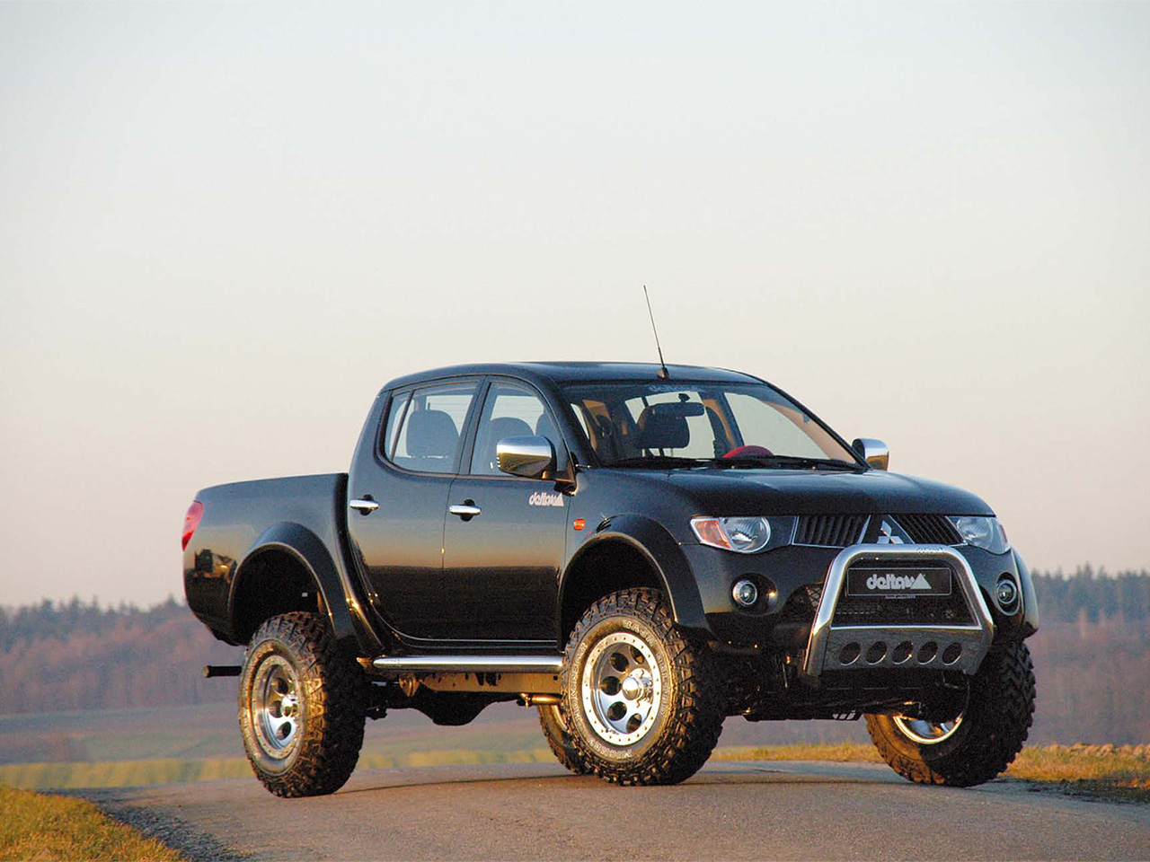 Delta 4x4 Mitsubishi L200 Photos Photogallery With 2