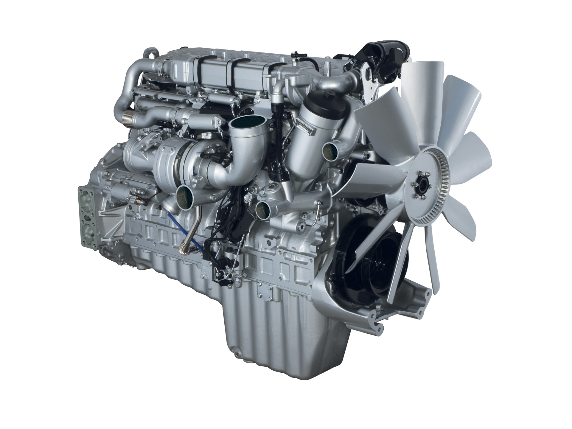 Detroit Diesel Mbe 4000 Engine Photos Photogallery With