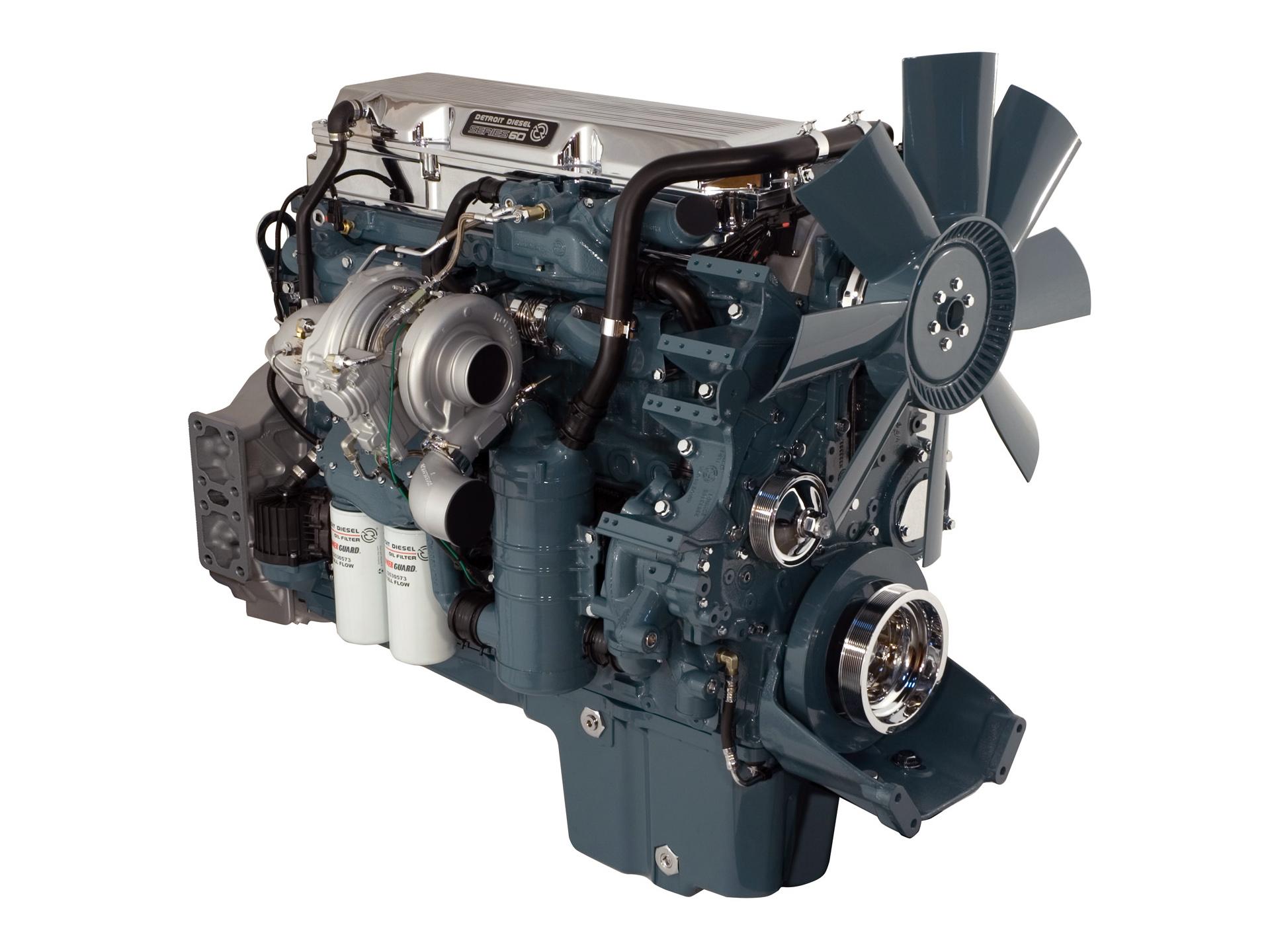 detroit diesel series 60 engine photos