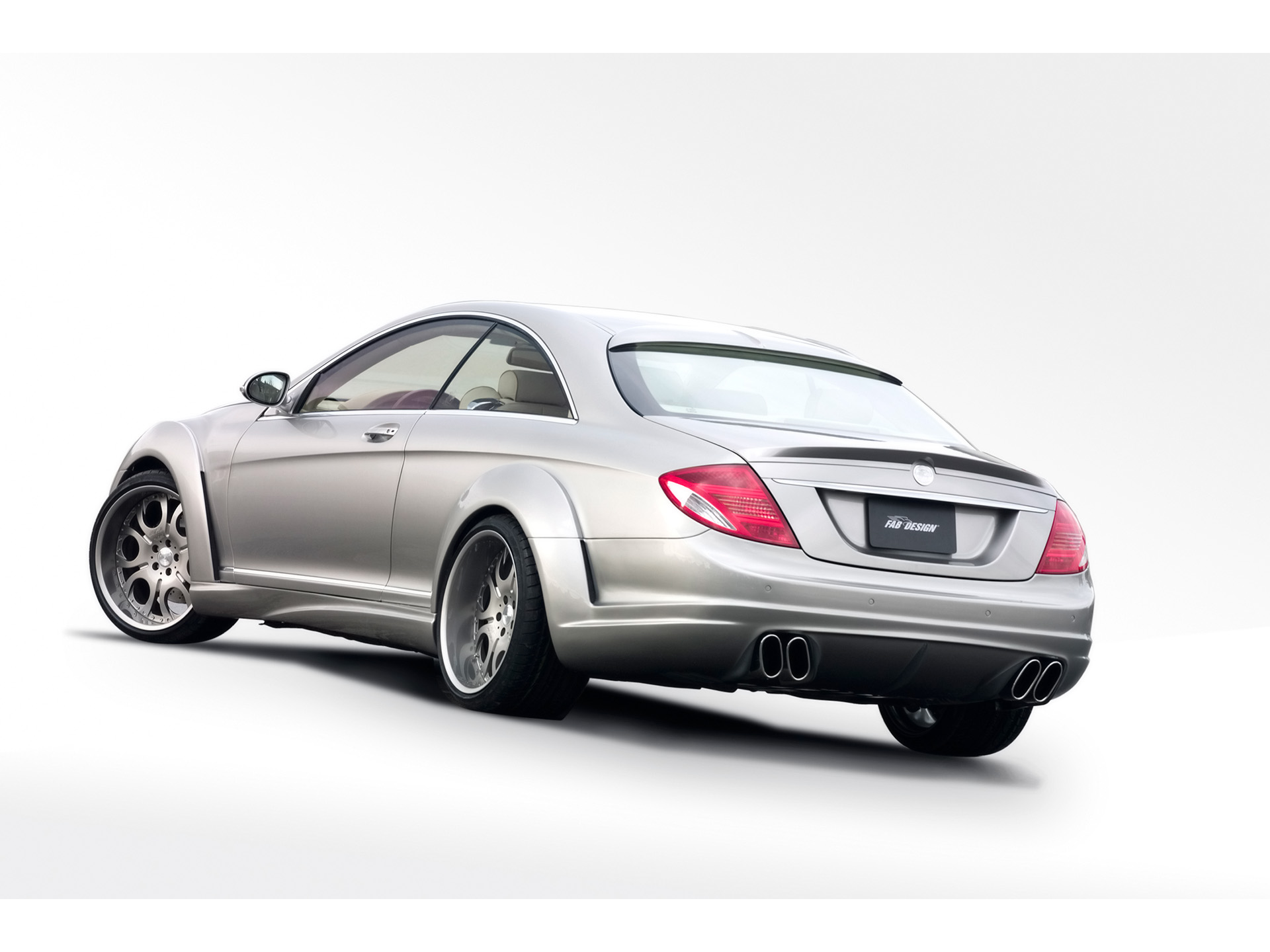 fab design mercedes cl600 v12 biturbo photos photogallery with 5 pics. Black Bedroom Furniture Sets. Home Design Ideas
