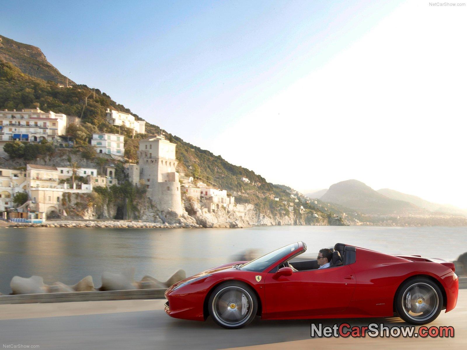 Ferrari 458 Spider Photo 85944