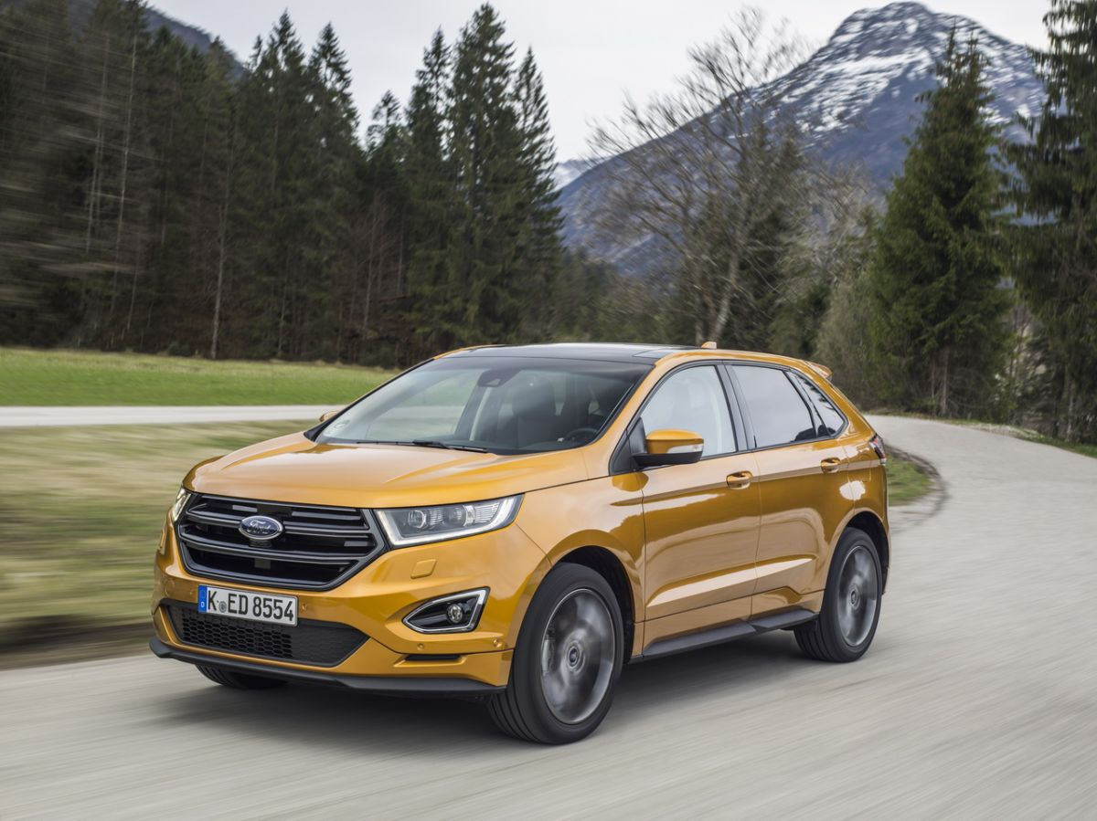 New Ford Edge Pictures