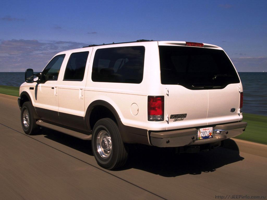 Модель авто Ford Excursion была …