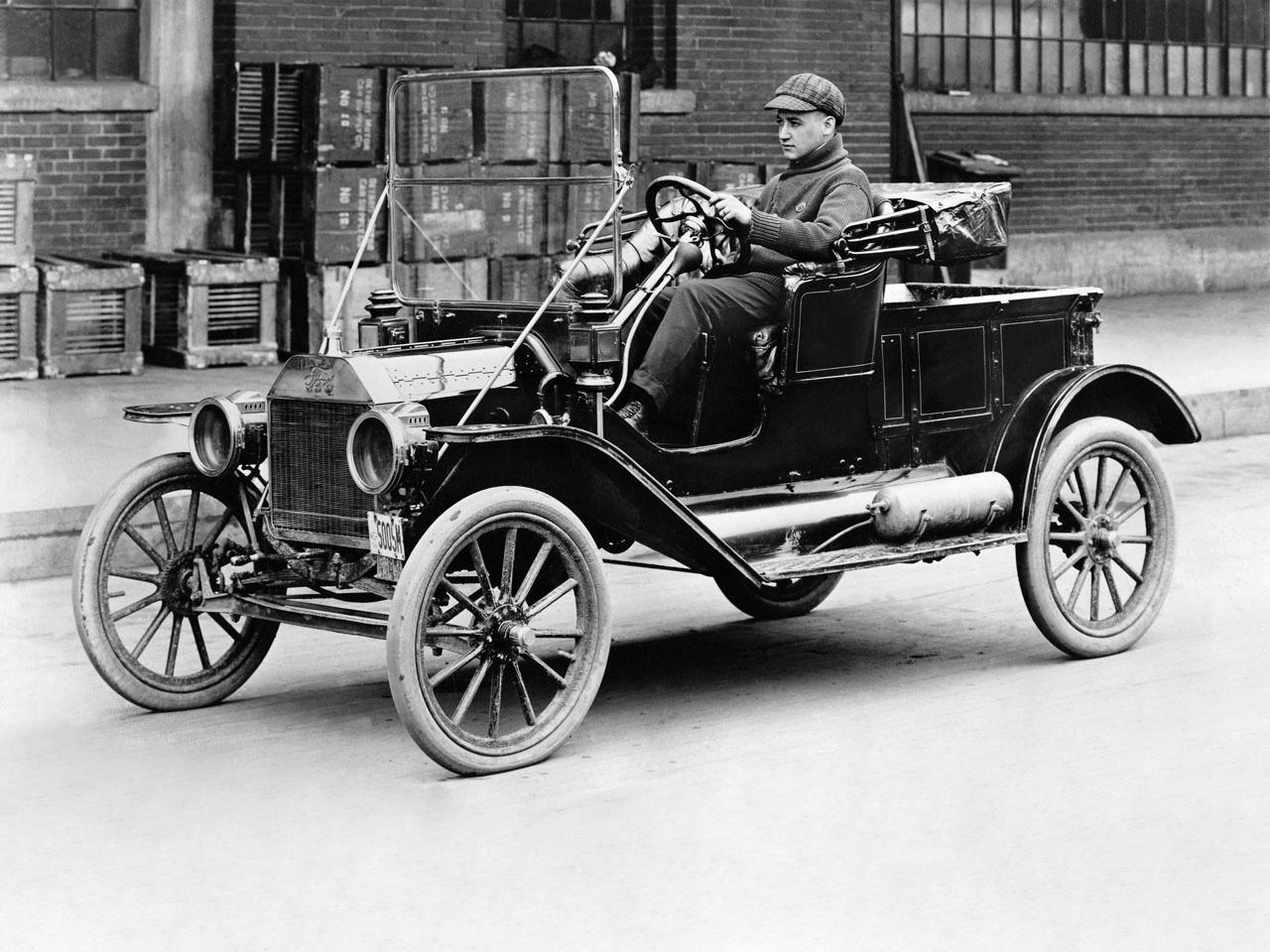 Генри Форд. История создания автомобиля марки Ford