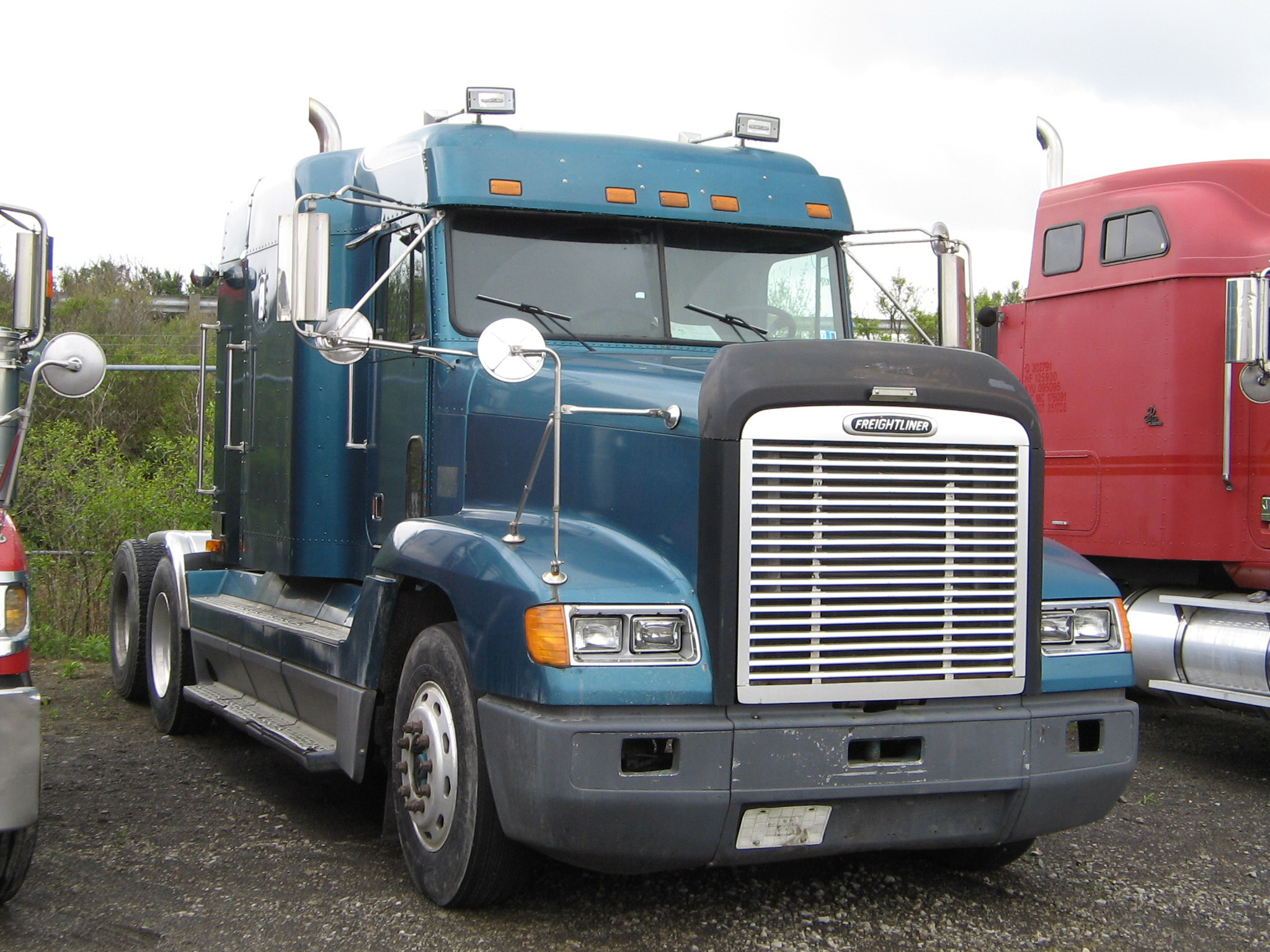 Freightliner Fld 120 : Freightliner fld photos photogallery with pics