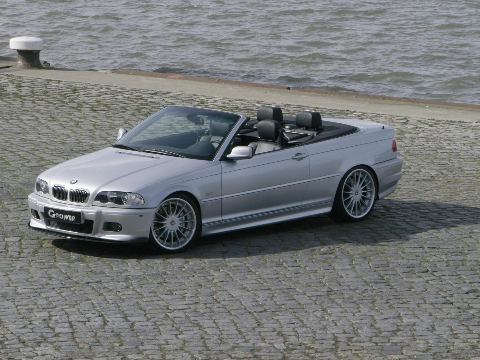 g power bmw 3 series cabrio e46 photos photogallery with 10 pics cars pictures. Black Bedroom Furniture Sets. Home Design Ideas