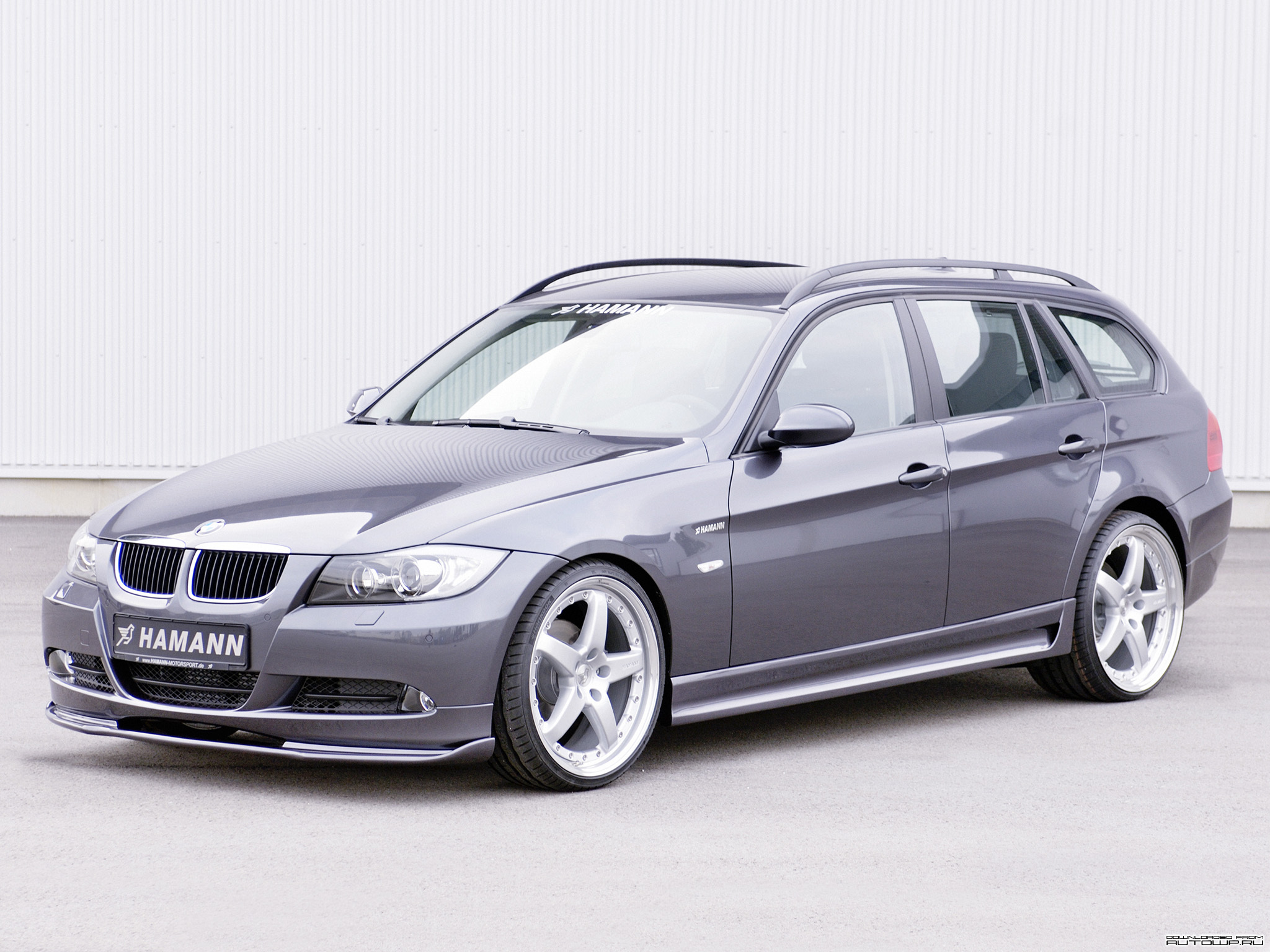 hamann bmw 3 series touring e91 photos photogallery with 4 pics. Black Bedroom Furniture Sets. Home Design Ideas