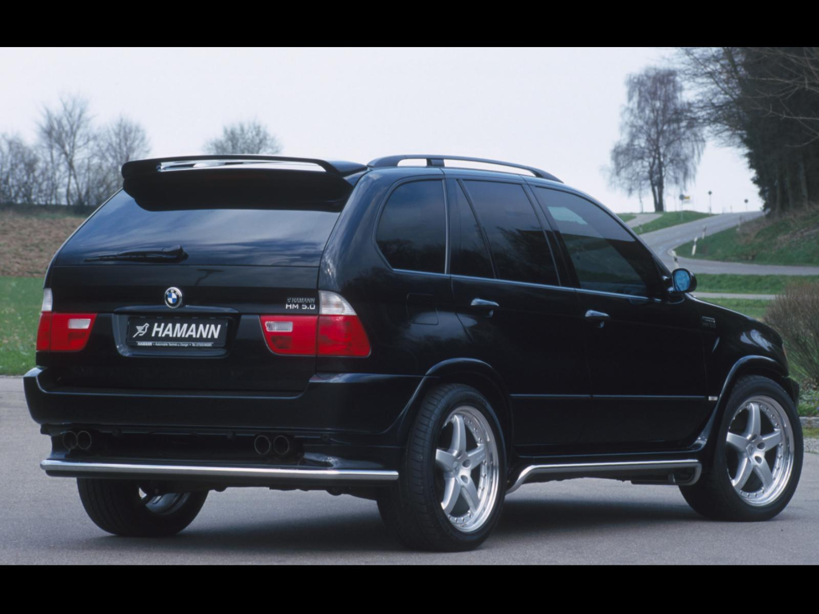 hamann bmw e53 x5 hm 4 8 5 0 photos photogallery with 6 pics cars pictures. Black Bedroom Furniture Sets. Home Design Ideas