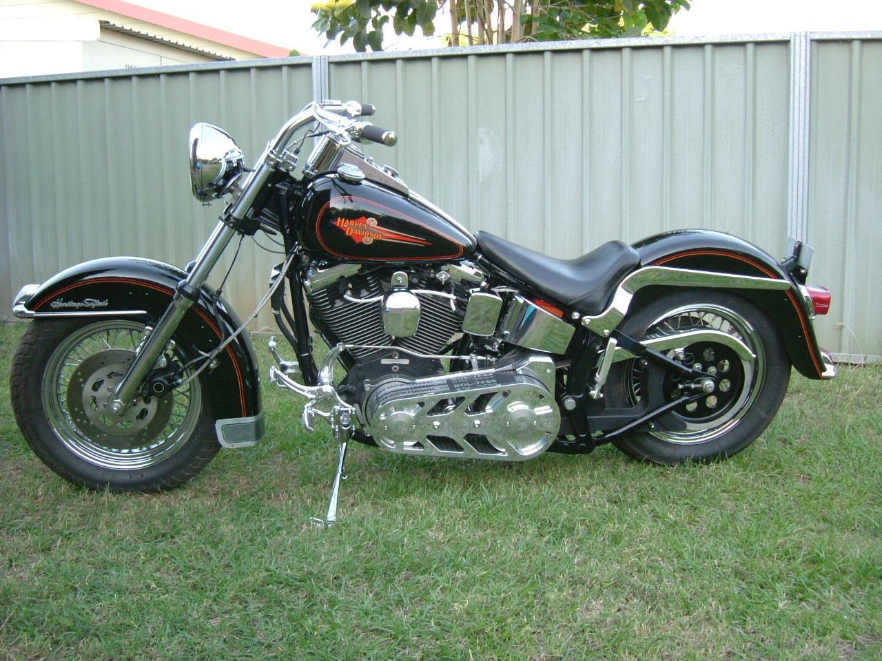 Harley Davidson Flstc Heritage Softail Classic Photos
