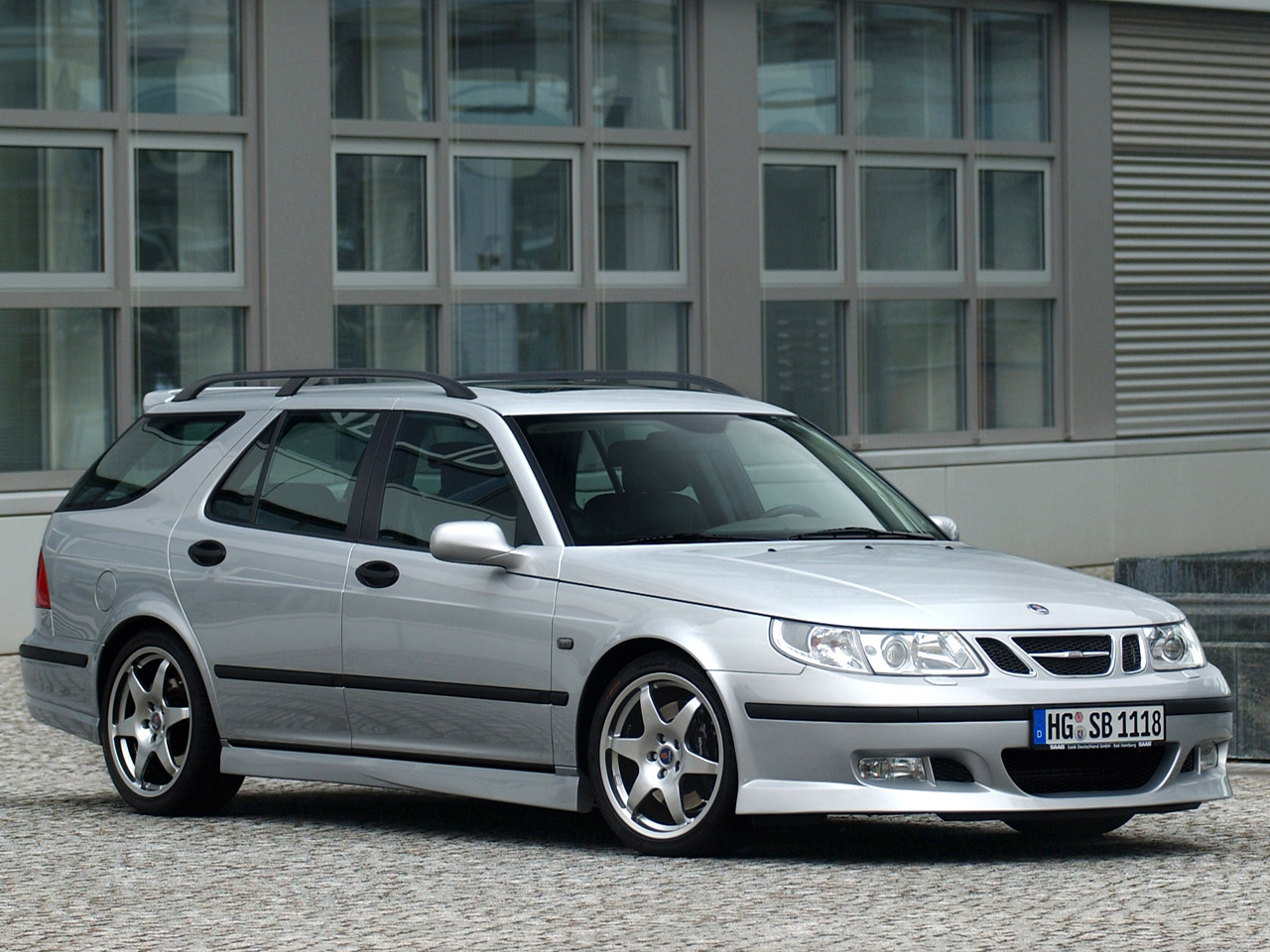 hirsch performance saab 9 5 wagon aero photos. Black Bedroom Furniture Sets. Home Design Ideas