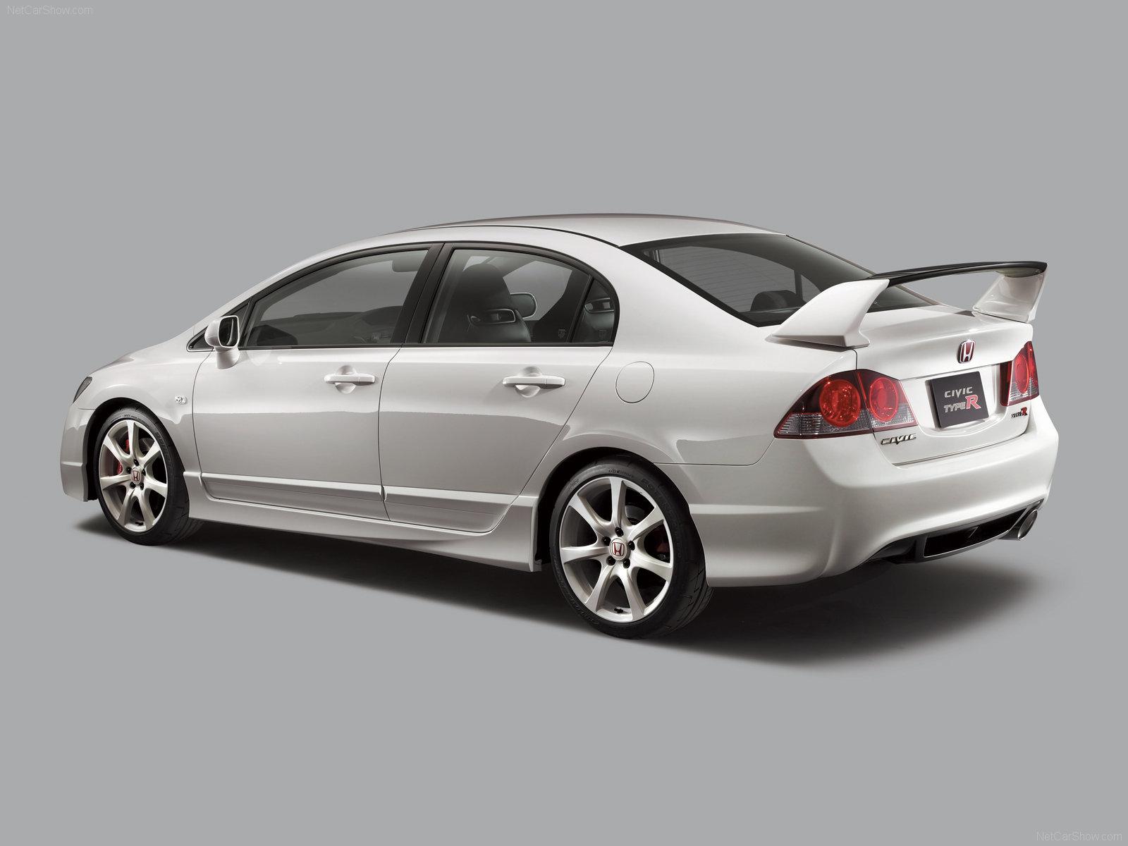Honda Civic Type-R Sedan photos - PhotoGallery with 12 pics  CarsBase ...