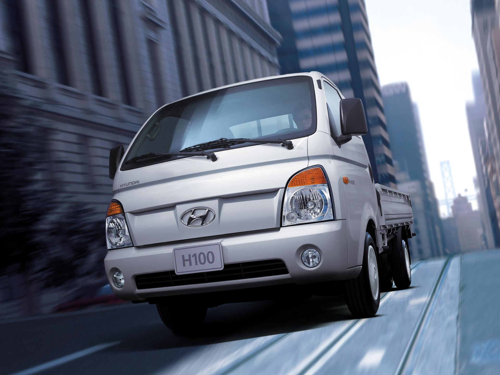 Hyundai H100 photos - PhotoGallery with 5 pics  CarsBase.com