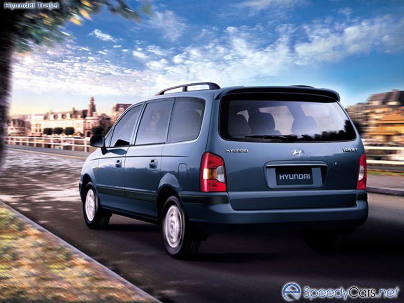 Фотографии Hyundai Trajet Фотогр…