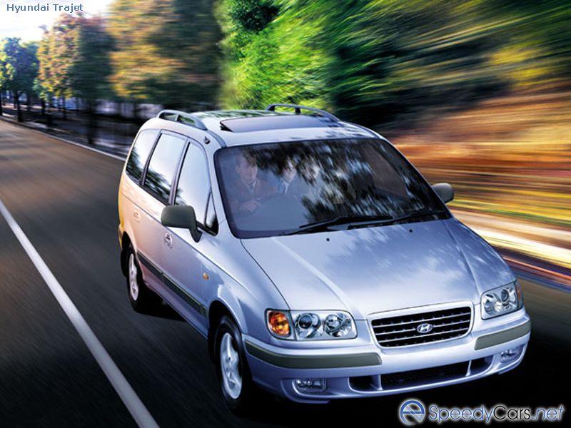 Модификации Hyundai Trajet.