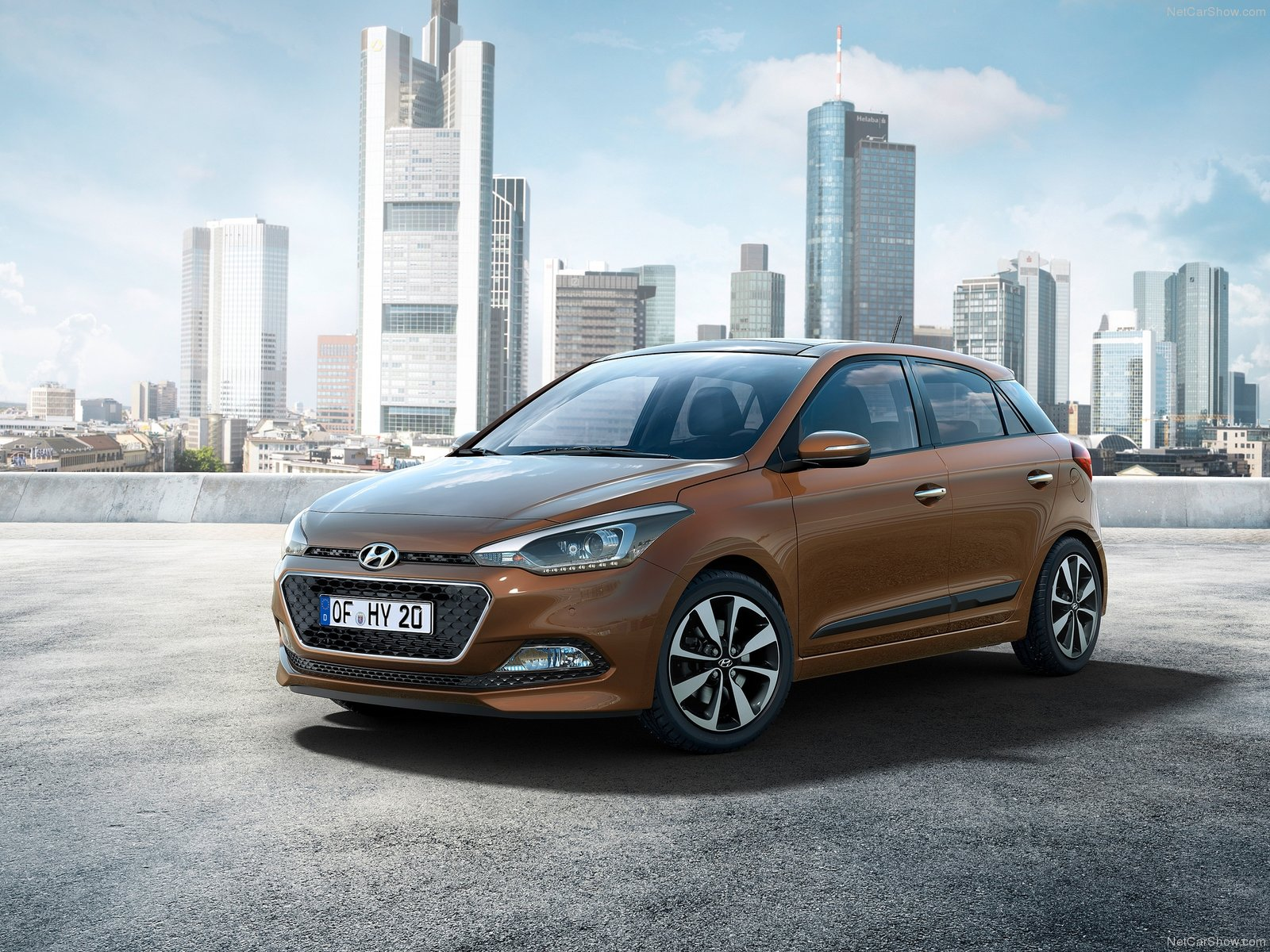 New hyundai i20 pictures