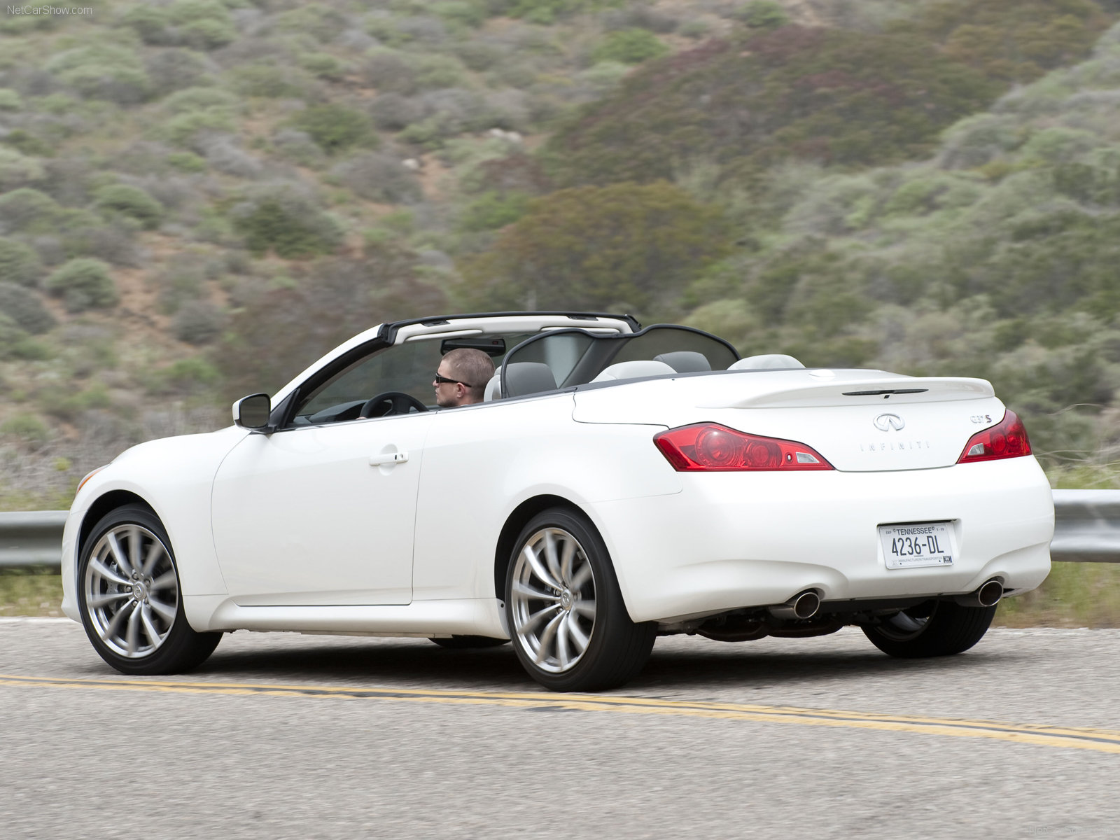 photo picture gallery pic infiniti convertible infinity