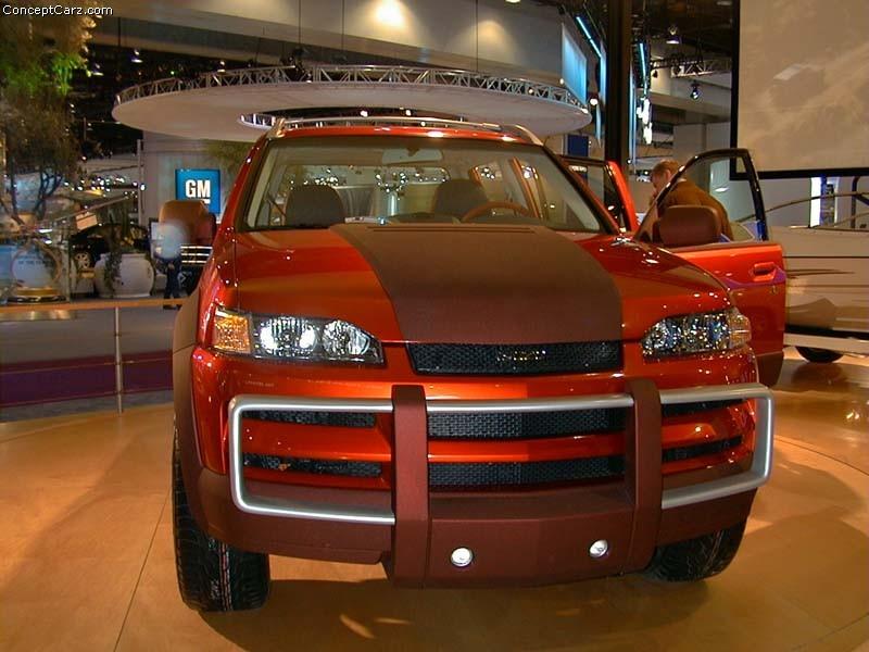 2002 Isuzu Axiom Xst Concept. Isuzu Axiom XST