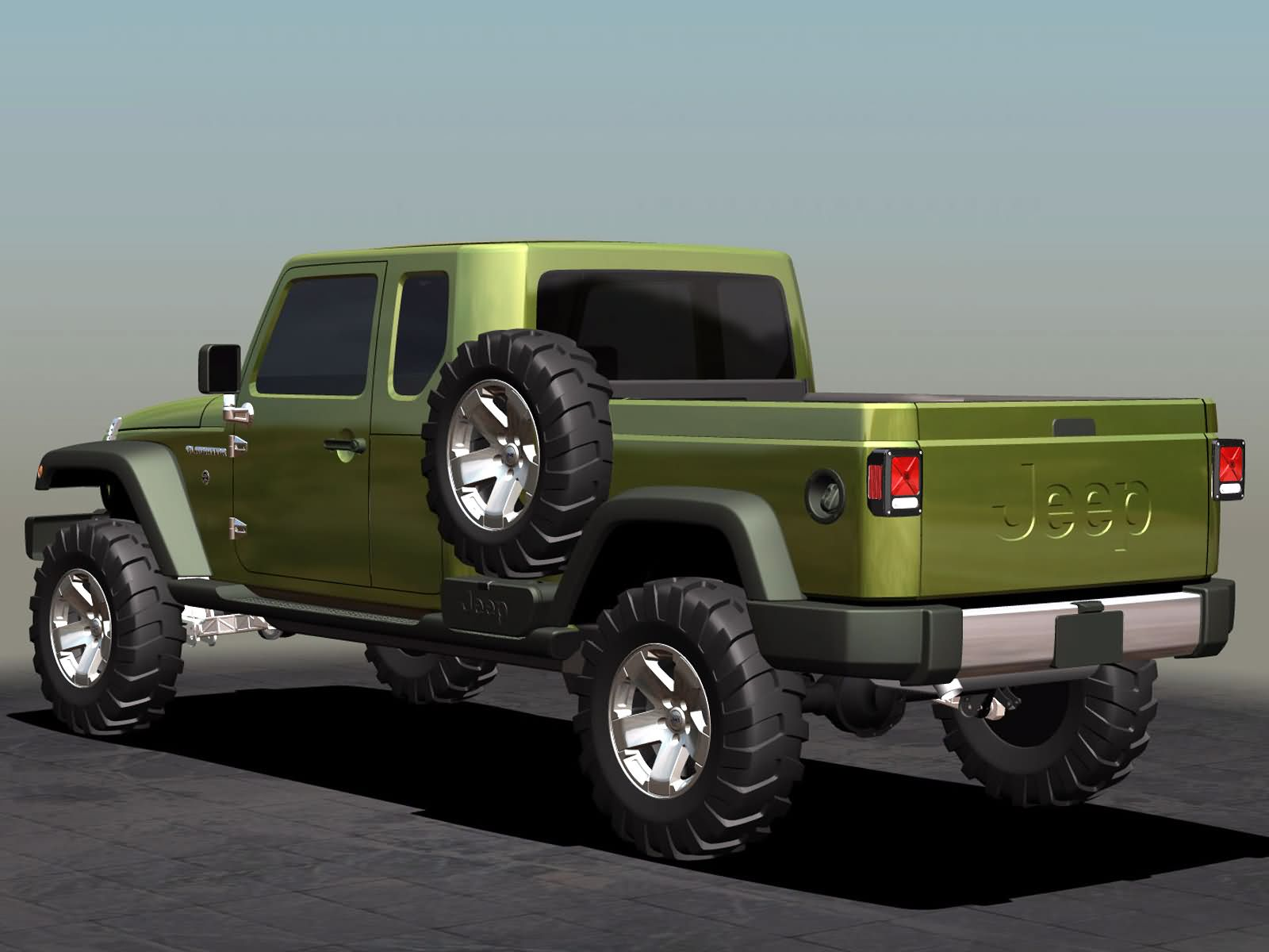 Jeep Gladiator photos Gallery with 13 pics CarsBase