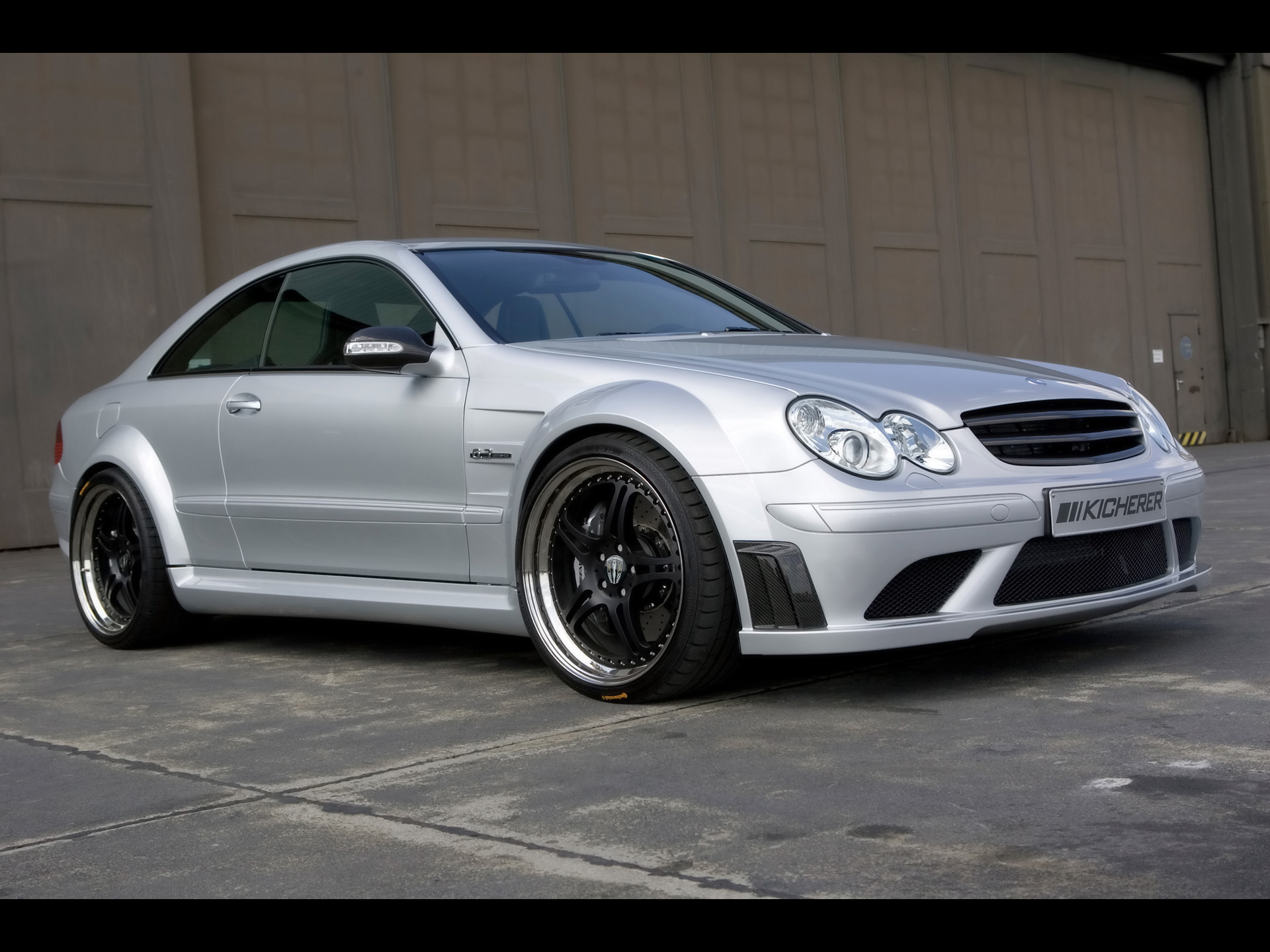 kicherer mercedes benz clk 63 amg photos photogallery. Black Bedroom Furniture Sets. Home Design Ideas