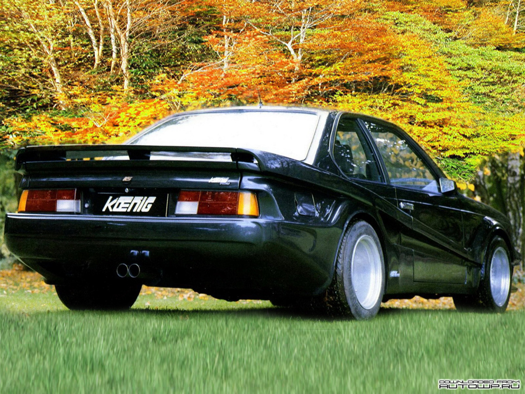 Koenig Bmw 6 Series E24 Photos Photogallery With 1