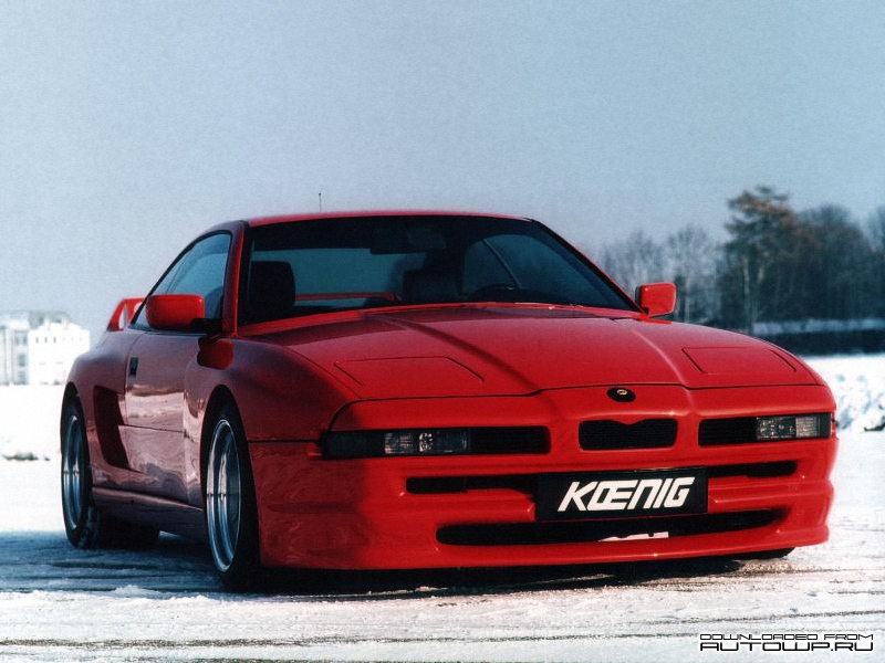 Koenig Bmw Ks8 Turbo Photos Photogallery With 2 Pics