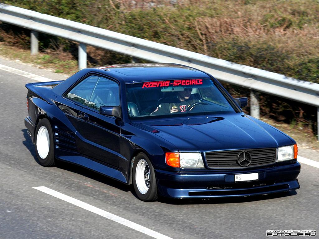 Koenig Mercedes Benz 560sec C126 Photos Photogallery