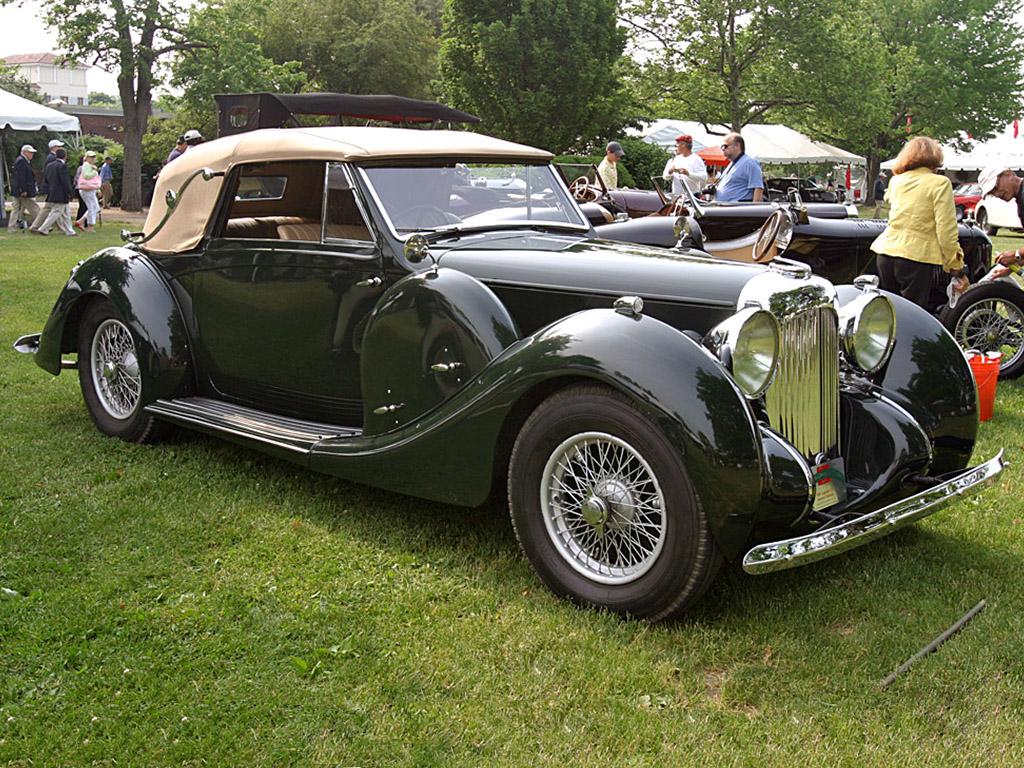 Lagonda V12 Cabriolet 1939 Photos Photogallery With 3