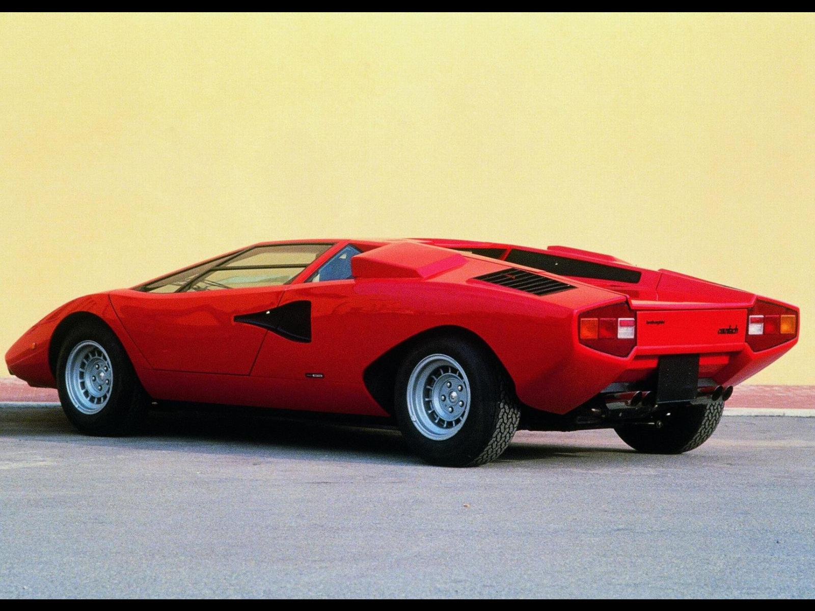 Lamborghini Countach Photos Photogallery With 18 Pics