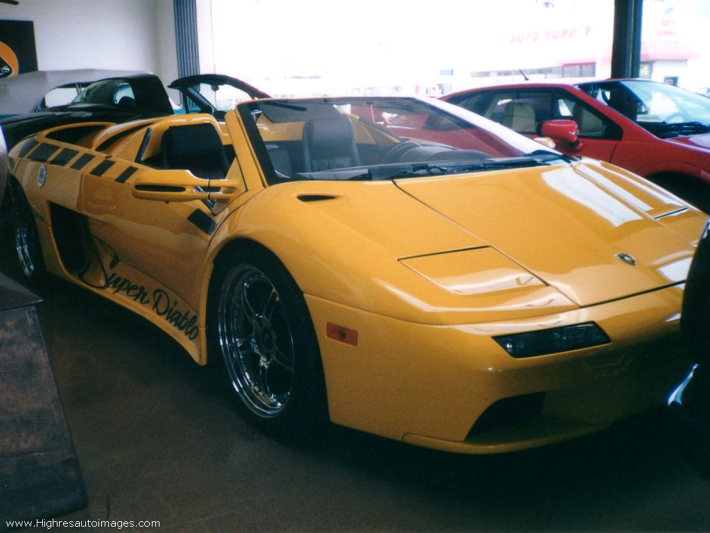 Lamborghini Diablo Vttt Photos Photogallery With 3 Pics
